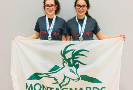 Jamie-Lynn Bernier et Gabrielle Rodrique médaillées d'argent