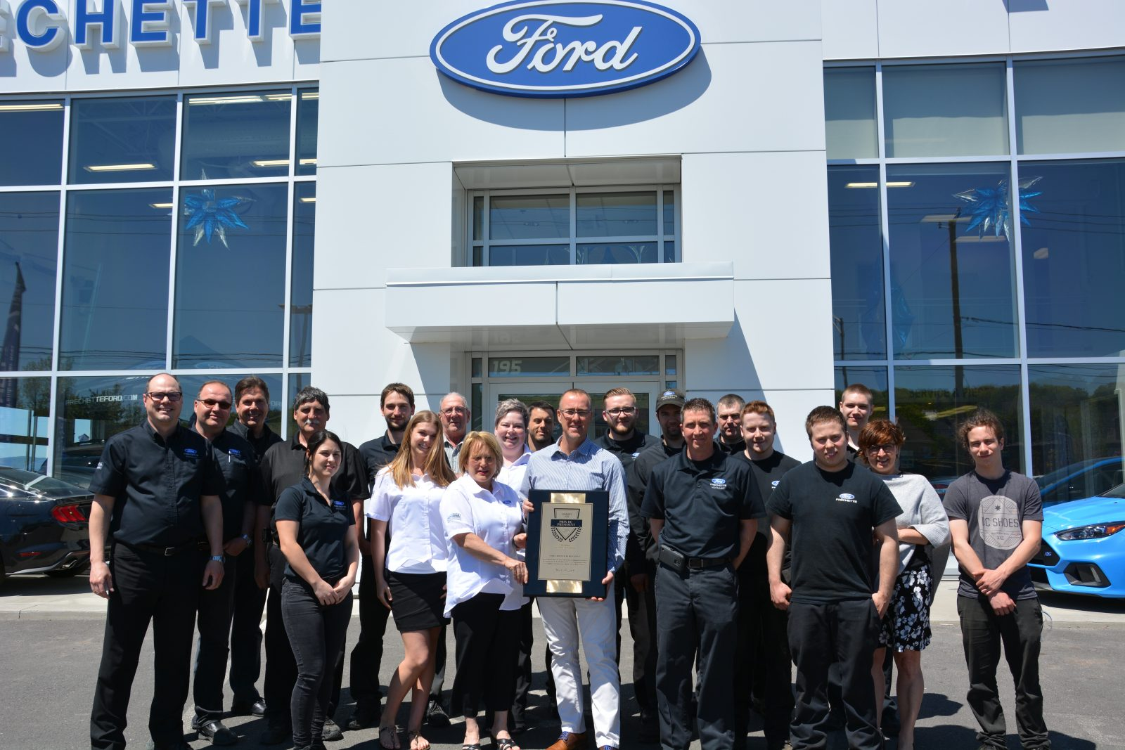 Fréchette Ford remporte un prix prestigieux