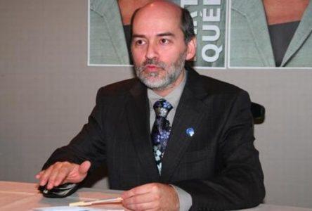 Michel Forget, candidat à l'élection du 1er octobre 2018