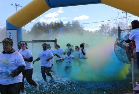 Une course haute en couleur à Notre-Dame-Du-Rosaire