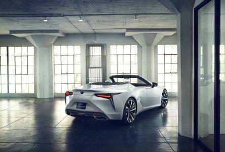 Un concept LC de Lexus à Détroit