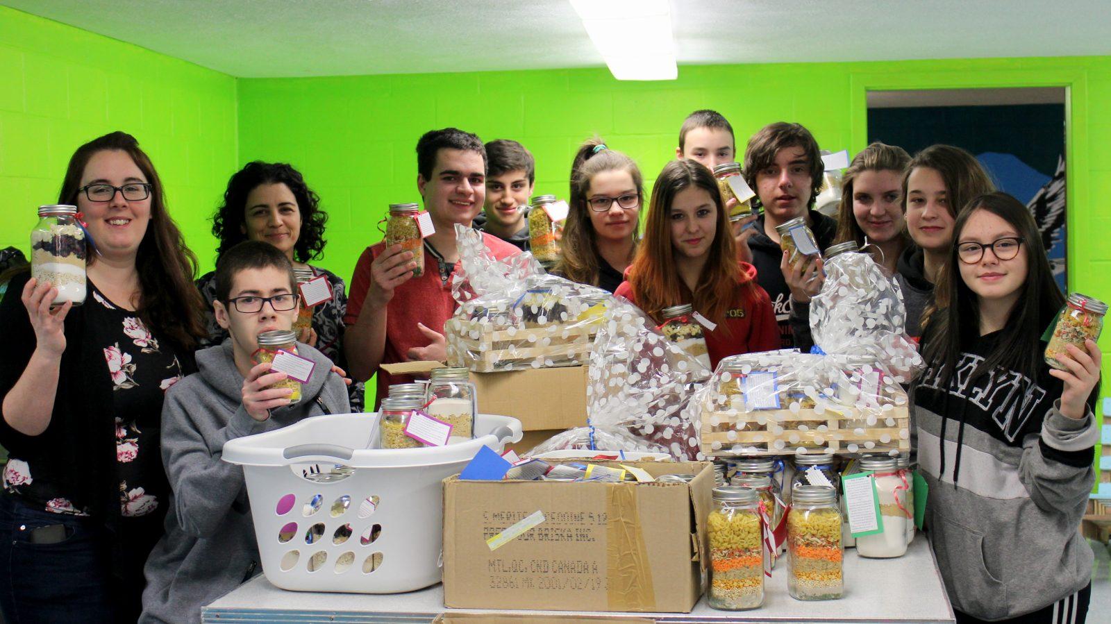 103 pots gourmands en cadeau
