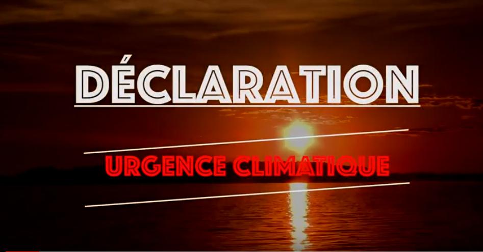 Déclaration d'urgence climatique: des citoyens choqués de la position de la Ville