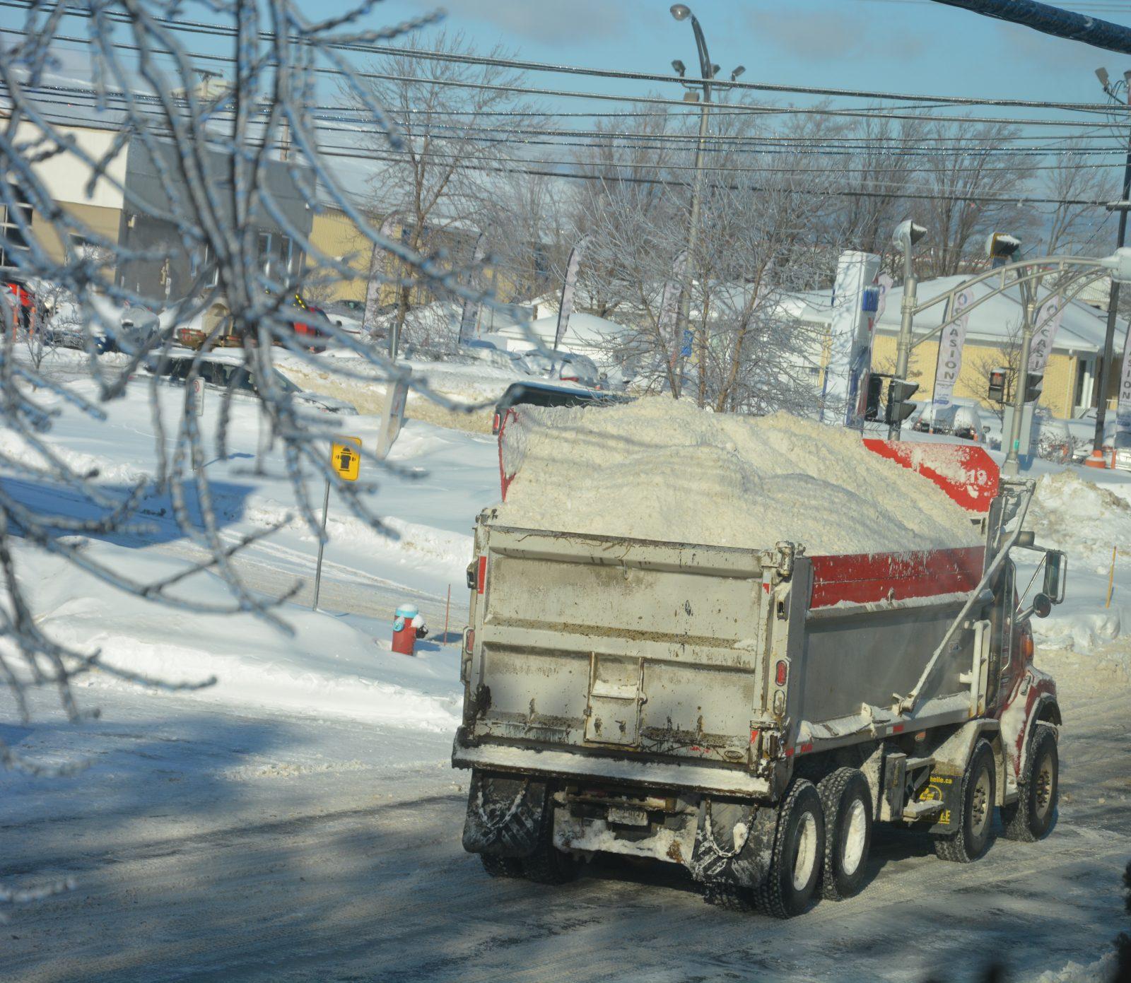 La ville obtient le feu vert pour ouvrir un deuxième dépôt à neige