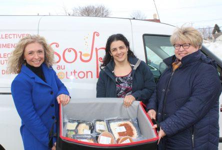 Maintien à domicile: Soupe au bouton offre un nouveau service en sécurité alimentaire