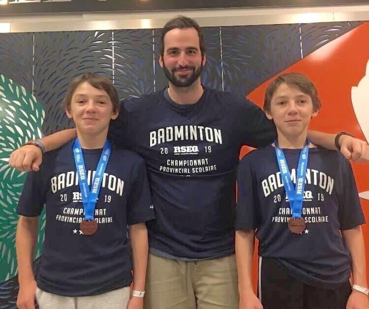 Des jumeaux magnymontois s'illustrent au badminton