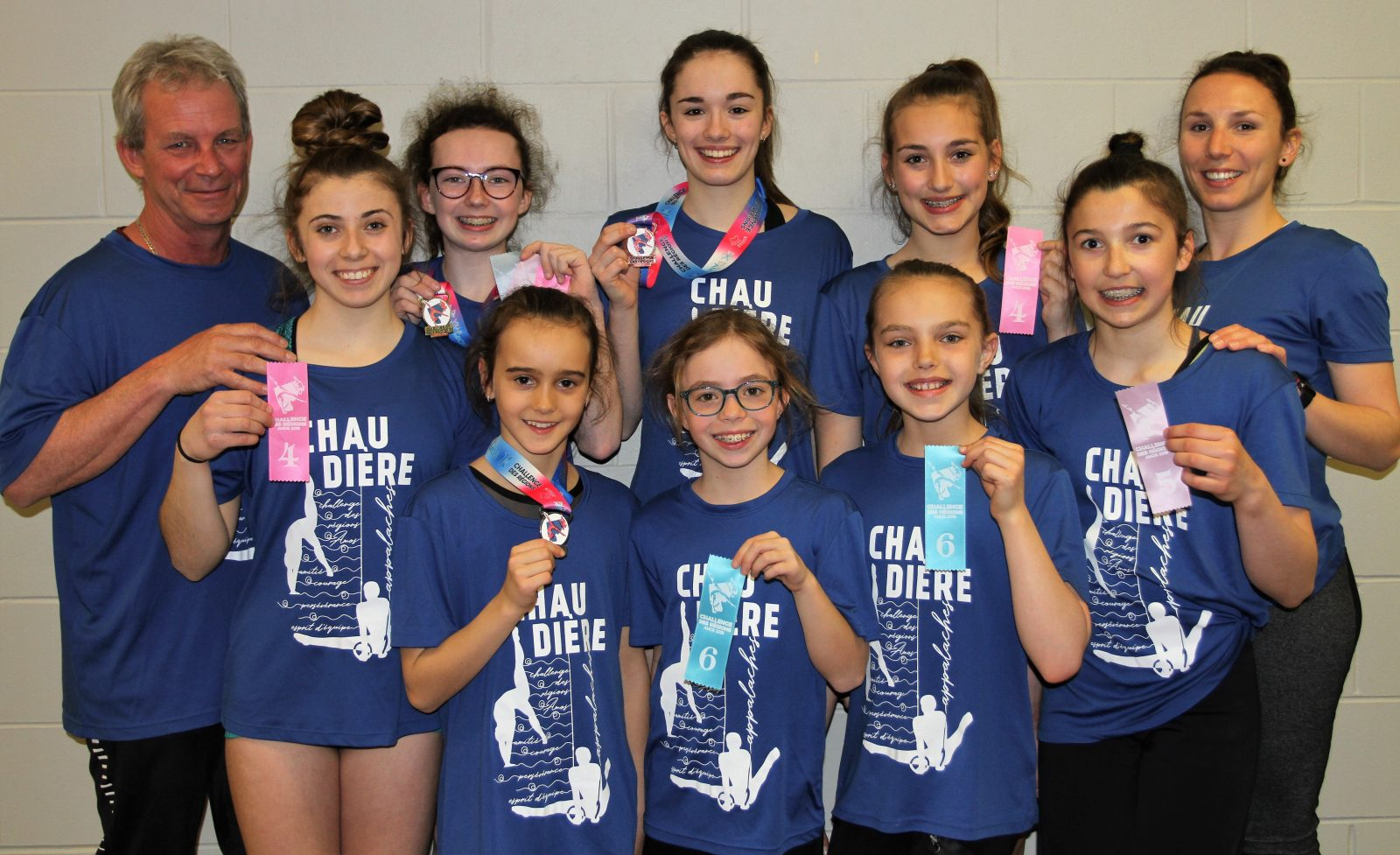 Nos gymnastes en Abitibi