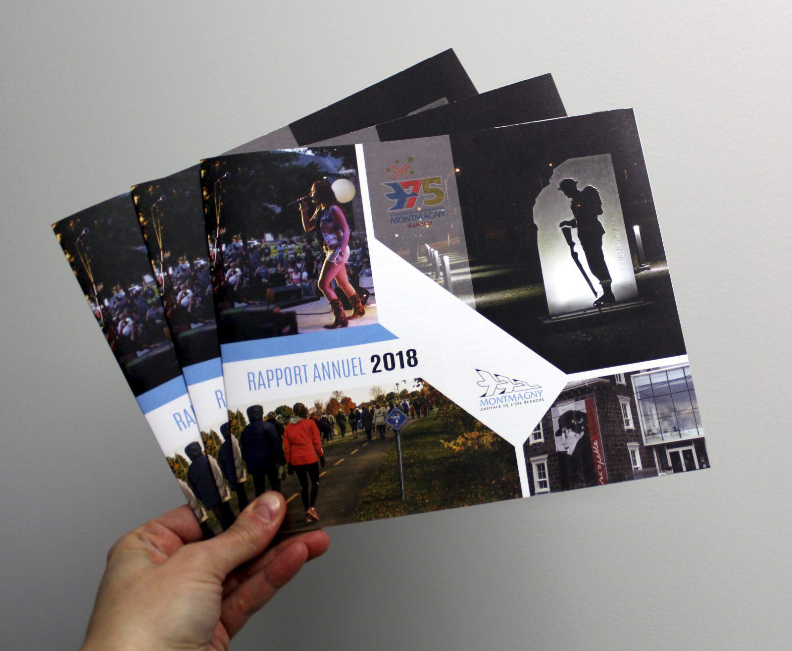 La Ville de Montmagny publie son rapport annuel de l'année 2018