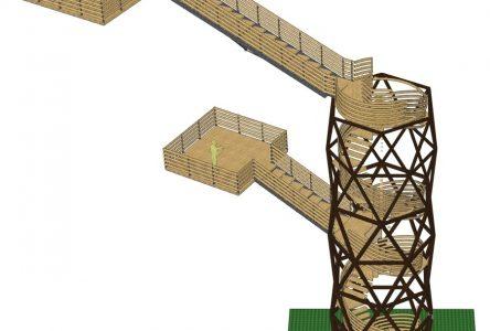 La tour de l'innovation sera érigée en juin
