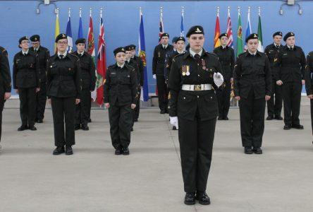 Les cadets de Montmagny honorés