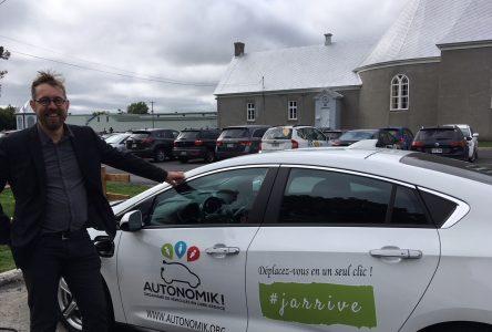 La MRC de L'Islet offrira un service d'auto en partage