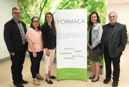 Formaca poursuit son développement