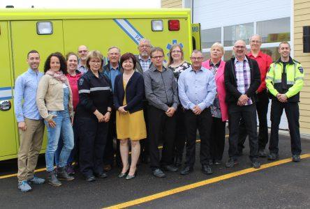 Les Ambulances de L'Islet-Sud inaugurent sa caserne