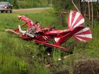 Un écrasement d'avion fait un mort à Saint-Jean-Port-Joli