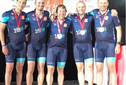 Bruno Fournier et son équipe ont accompli le 1000 km