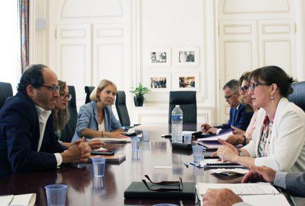 Marie-Eve Proux participe au sommet Pact for Impact à Paris
