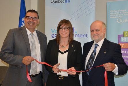 Hôpital de Montmagny: l'Imagerie à résonance magnétique est inaugurée