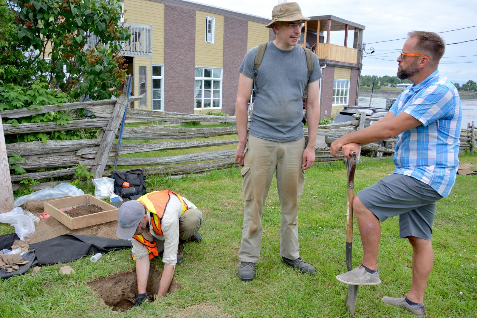 Montmagny: des archéologues découvrent des vestiges préhistoriques