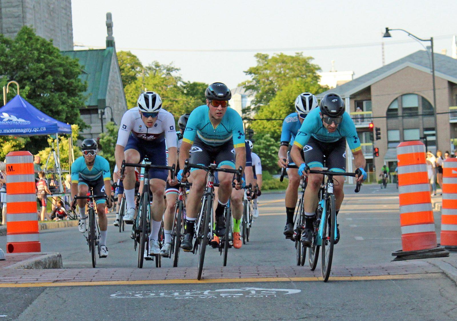 Une quarantaine de coureurs au 13e Critérium de Montmagny