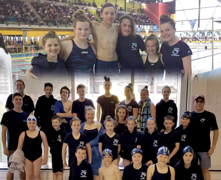 Club Natation Montmagny: de plus en plus de nageurs en compétition