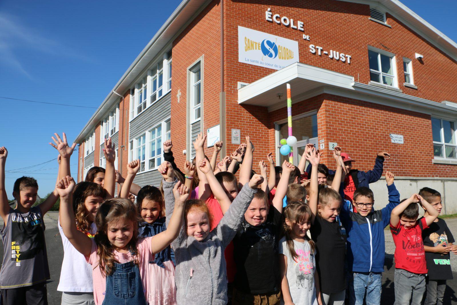 1,4 M$ pour la rénovation de l'école de Saint-Just