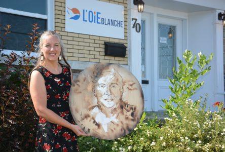 RenéeRose Pelletier-Martineau s'arrête à Montmagny