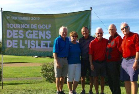 Tournoi de golf des Gens de L'Islet