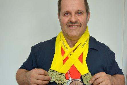 Championnat du Commonwealth à Terre-Neuve: Claude Dallaire revient avec six médailles