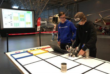Dans le top 10 d'une compétition de robotique