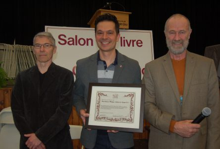 André-Carl Vachon reçoit le prix Philippe-Aubert-de-Gaspé