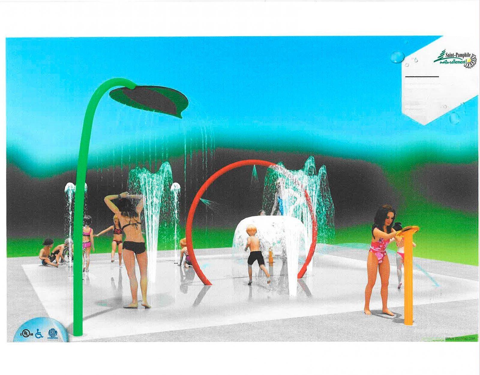 Saint-Pamphile aura ses jeux d'eau