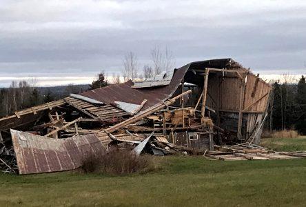 Bilan de la tempête automnale dans la MRC de Montmagny: les derniers clients ont recouvré l'électricité le 7 novembre