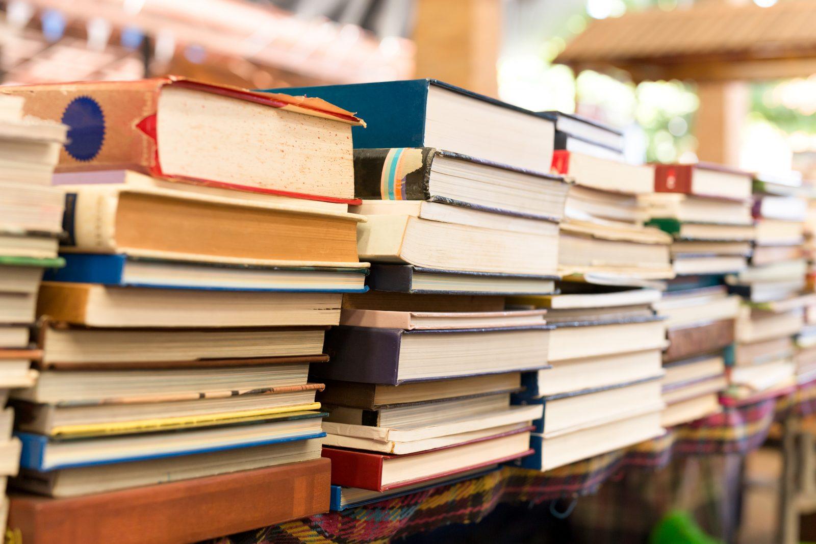 Brocante de livres à L'Islet
