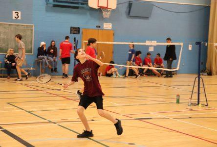 Le badminton de plus en plus populaire à Louis-Jacques Casault