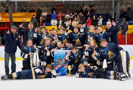 Les Alliés Peewee BB, champions au tournoi national de St-Hyacinthe