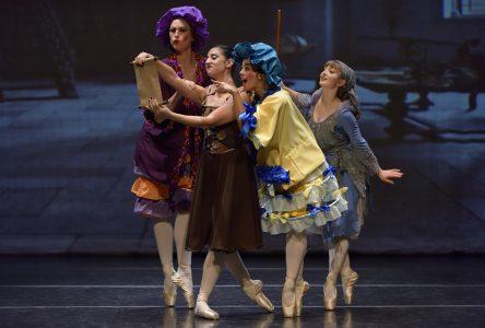 De jeunes danseuses vivront le rêve de Cendrillon!