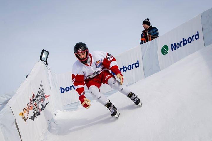 Redbull icecross: Mike Tremblay décroche la 1ère place à Percé