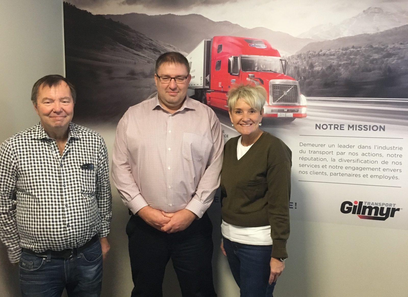 Marcus Deschênes devient l'actionnaire majoritaire de Transport et Garage Gilmyr