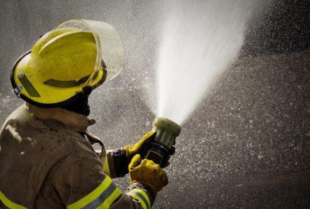 Le feu rase un chalet à Saint-Jean-Port-Joli