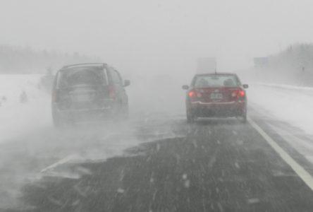 Fermeture imminente de l'autoroute 20 et de la route 132