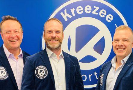 Kreezee Sports veut aider les organisations sportives