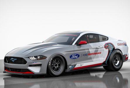 Une Mustang électrique pour le quart de mille