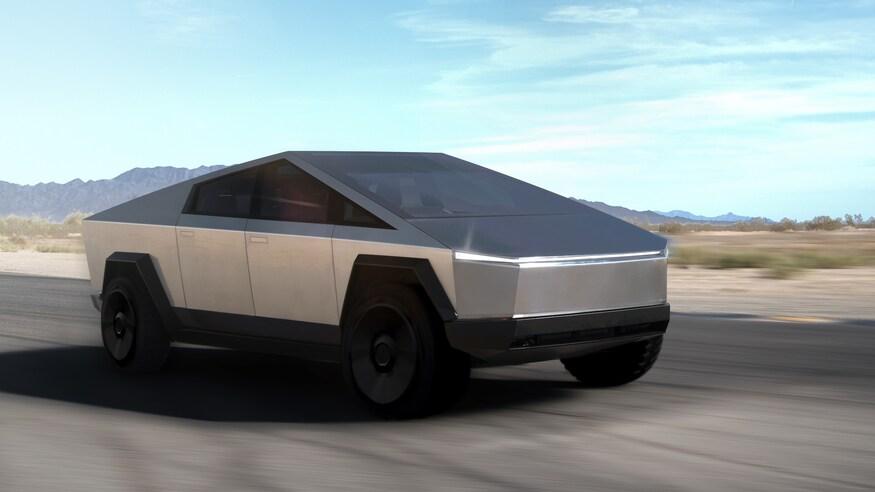 Tesla Cybertruck- Tout droit sorti d'un film de science-fiction