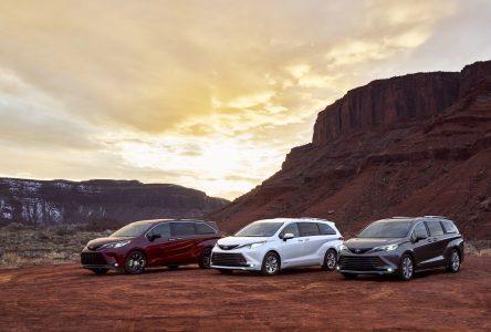 Une Toyota Sienna hybride pour 2021