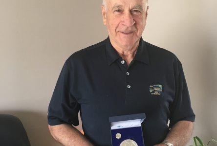 Alexandre Leblanc reçoit la Médaille du lieutenant-gouverneur