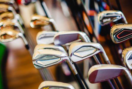Nos boutiques de golf demeurent fermées