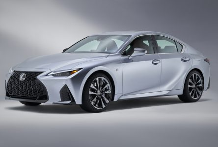 Première mondiale de la Lexus IS 2021