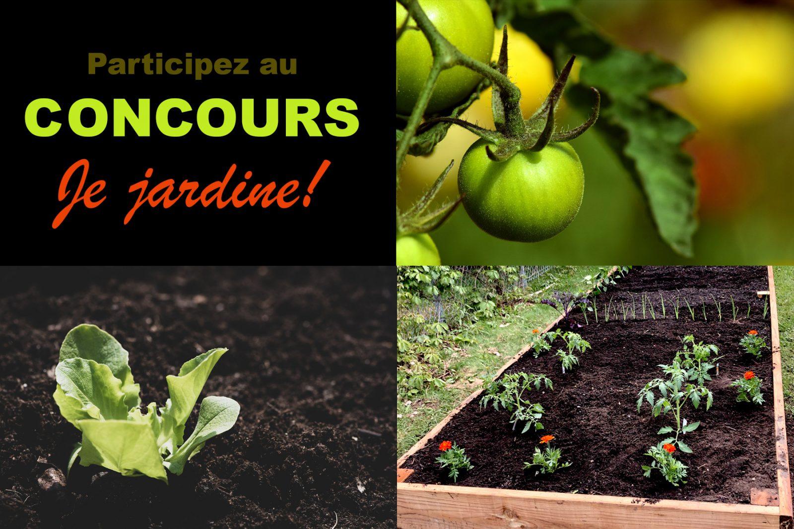 Le concours « Je jardine »: 500 $ à gagner!