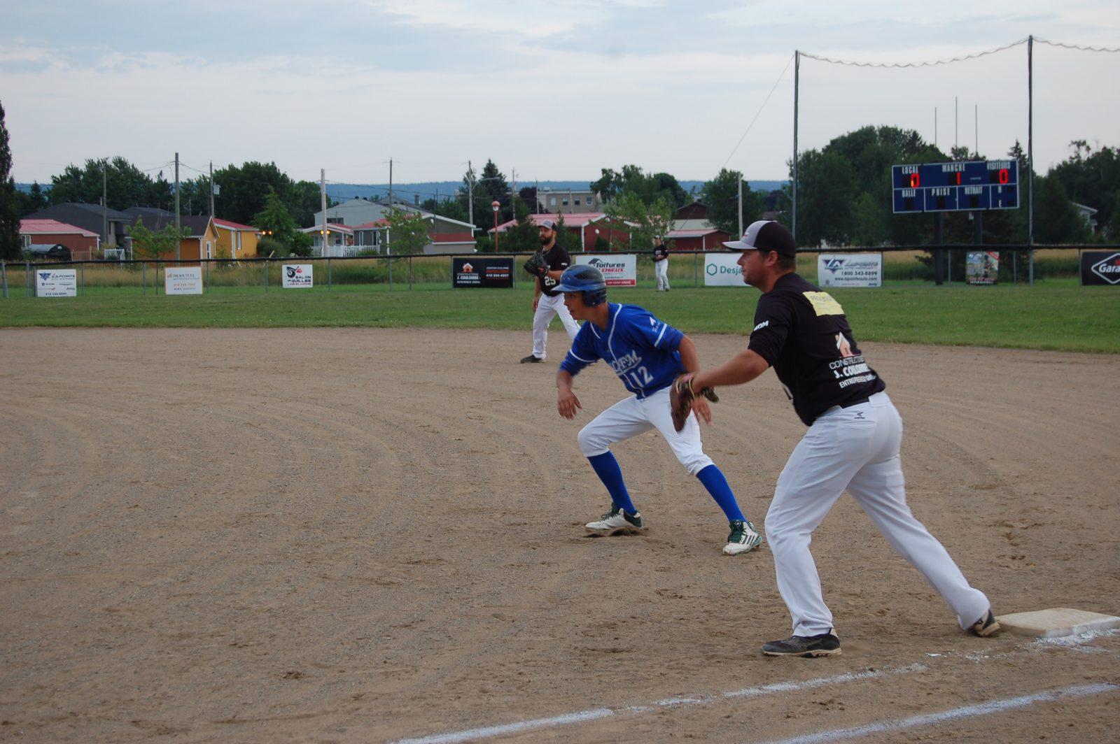 Baseball senior: Montmagny s'incline 11 à 3