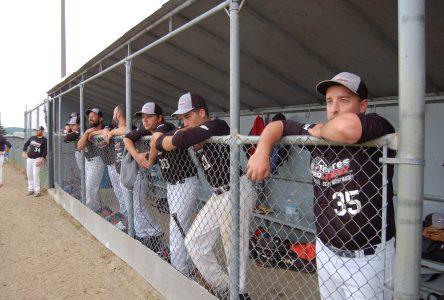Baseball senior: partie annulée cet après-midi à Montmagny